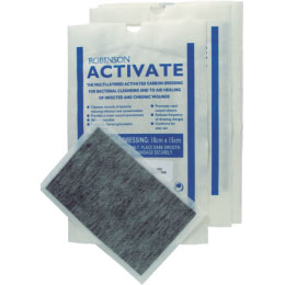 Active wound dressing