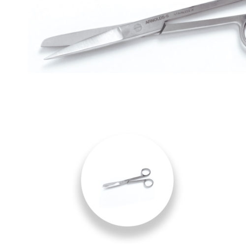 Standard Operating Scissors - Blunt Straight