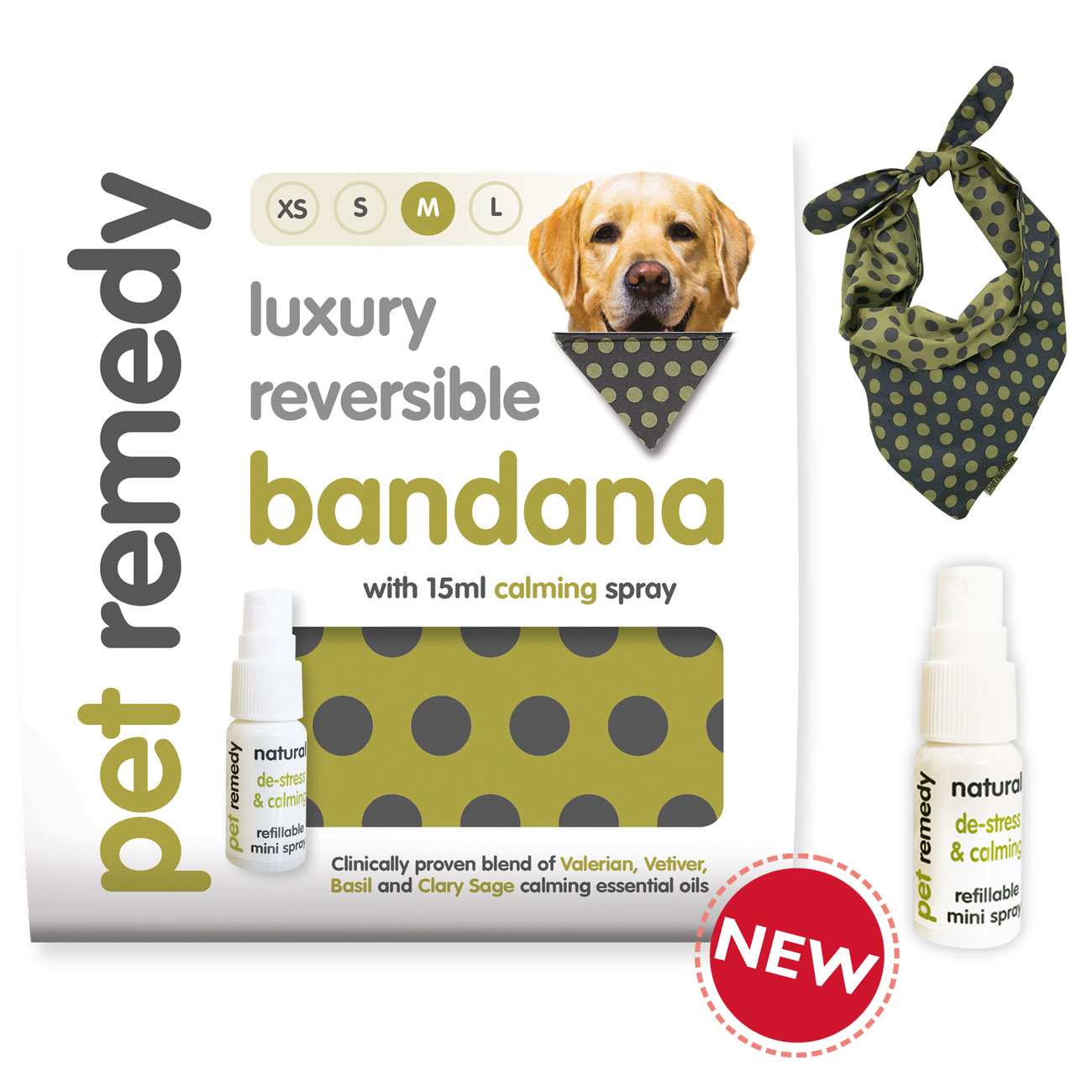 Pet Remedy® Bandana Calming Kit