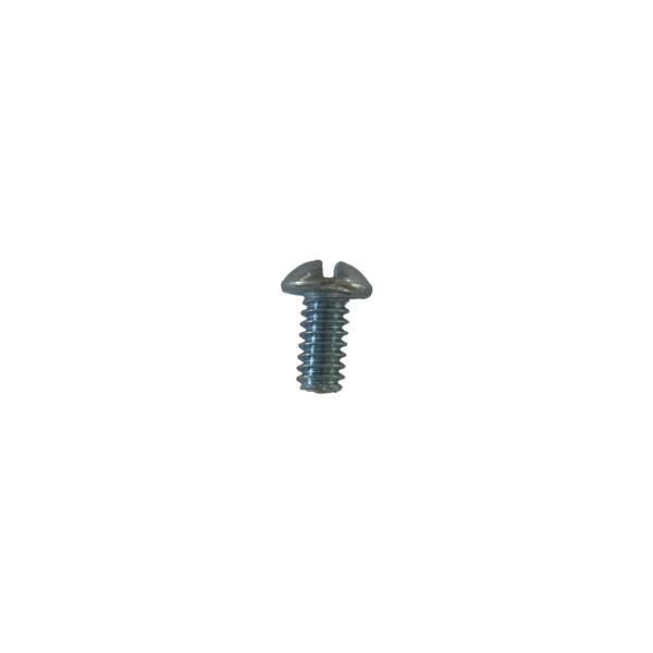 Retaining bayonet clamp screw