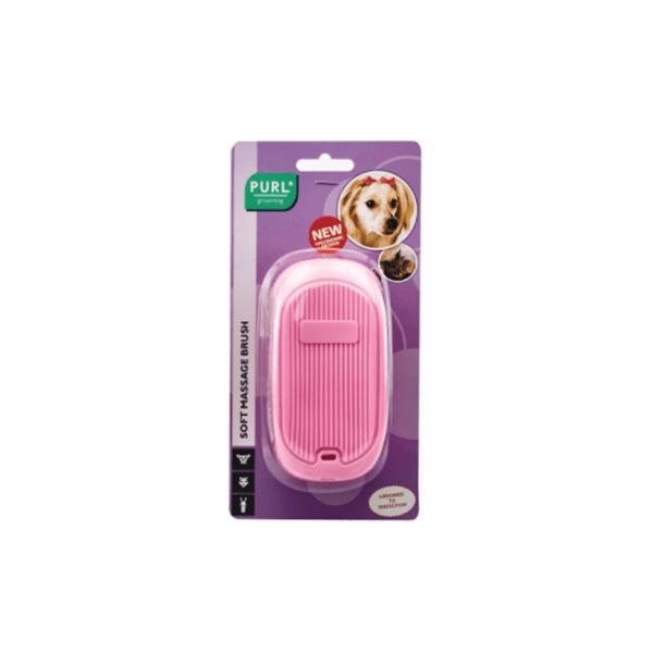 Purl®Soft Massage Brush(Pink)