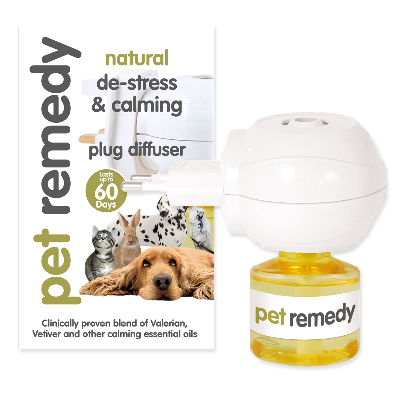 Pet Remedy® 2-Pin Plug Diffuser