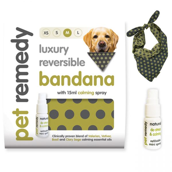 Pet Remedy Bandana Calming kit