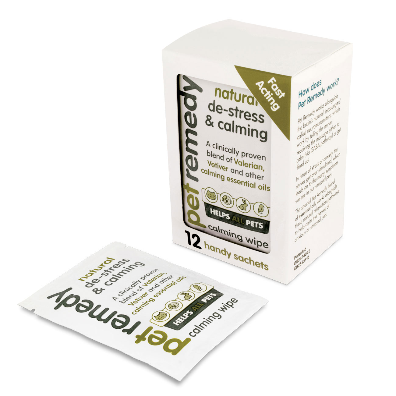 Pet Remedy® Calming Wipes